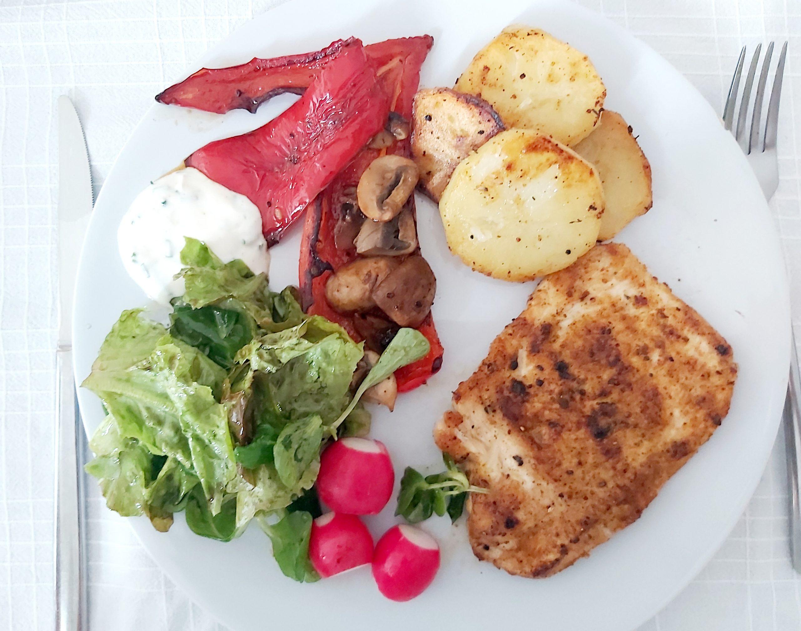 Fitka primjer uravnoteženog obroka. Borba s ugljikohidratima nije vrijedna.